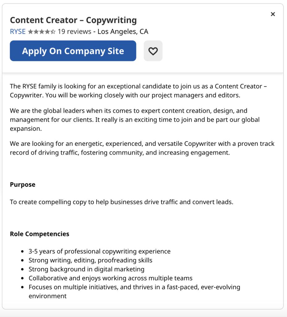 Entry-Level Digital Marketing Jobs